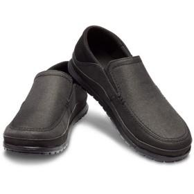 【クロックス公式】 サンタクルーズ プラヤ スリップオン メン Men's Santa Cruz Playa Slip-On メンズ、紳士、男性用 ブラック/黒 25cm,26cm,27cm,28cm,29cm loafer ローファー 靴 30%OFF