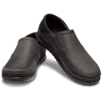 【クロックス公式】 サンタクルーズ プラヤ スリップオン メン Men's Santa Cruz Playa Slip-On メンズ、紳士、男性用 ブラック/黒 25cm,26cm,27cm,28cm,29cm loafer ローファー 靴 20%OFF