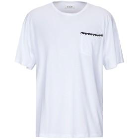 《送料無料》AMISH メンズ T シャツ ホワイト L コットン 100%