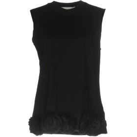 《期間限定 セール開催中》VICTORIA, VICTORIA BECKHAM レディース T シャツ ブラック XS コットン 100% / ポリエステル