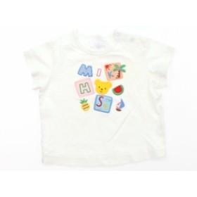 【ミキハウス/mikiHOUSE】Tシャツ・カットソー 70サイズ 男の子【USED子供服・ベビー服】(397889)