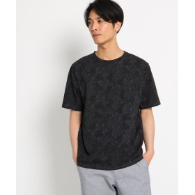 THE SHOP TK(Men)(ザ ショップ ティーケー(メンズ)) ◆ボタニカル総柄Tシャツ