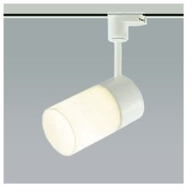 コイズミ照明 LED一体型スポットライト ライティングレール取付タイプ 白熱球60W相当 温白色 広角タイプ AS46482L