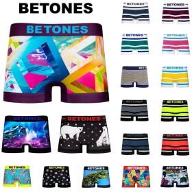 ビトーンズ ボクサーパンツ メンズ BETONES 選べるカラー 各種 フリーサイズ