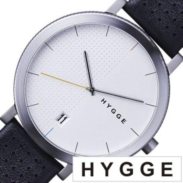 04fe65c32e ヒュッゲ 腕時計 HYGGE 時計 ヒュッゲ 時計 HYGGE 腕時計 2203 メンズ レディース ホワイト HGE020065 正規品 人気