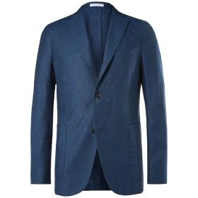 《期間限定セール開催中!》BOGLIOLI メンズ テーラードジャケット ブルー 50 シルク 51% / 麻 49%