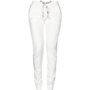 《セール開催中》COLMAR レディース パンツ ホワイト L コットン 95% / ポリウレタン 5%