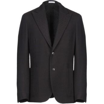 《期間限定セール開催中!》BOGLIOLI メンズ テーラードジャケット ダークブラウン 50 バージンウール 100%