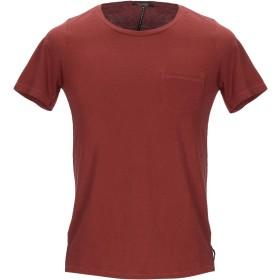 《セール開催中》SCOTCH & SODA メンズ T シャツ 赤茶色 XS コットン 100%