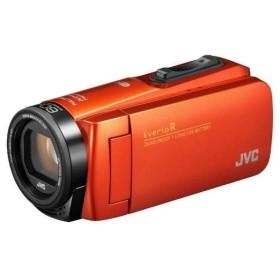 JVC GZ-RX680-D ブラッドオレンジ Everio R [フルハイビジョンデジタルビデオカメラ (メモリータイプ64GB・SDカード)]