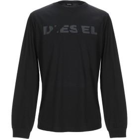 《期間限定 セール開催中》DIESEL メンズ T シャツ ブラック XS コットン 100% / ポリウレタン