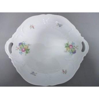ローゼンタール Rosenthal プレート レディース 新品同様 白×マルチ 花柄 陶器【中古】