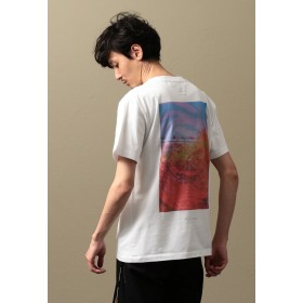 LOVELESS 【Education from Youngmachines】MEN JIRO KONAMIコラボシャツ(DAY) Tシャツ・カットソー,ホワイト2