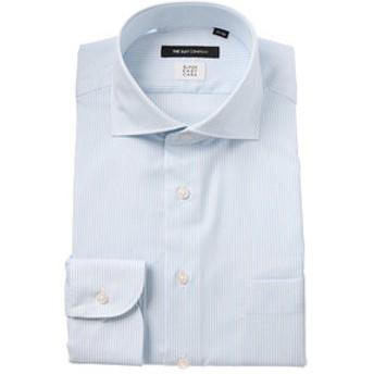 【THE SUIT COMPANY:トップス】【COOL MAX】ホリゾンタルカラードレスシャツ ストライプ 〔EC・BASIC〕