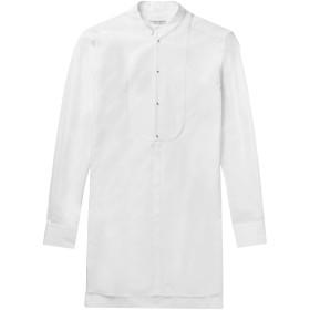 《期間限定セール開催中!》ALEXANDER MCQUEEN メンズ シャツ ホワイト M コットン 100%