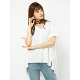 [マルイ]【セール】バックプリーツシャツ/セシルマクビー(CECIL McBEE)