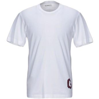《セール開催中》MAURO GRIFONI メンズ T シャツ ホワイト S コットン 100%