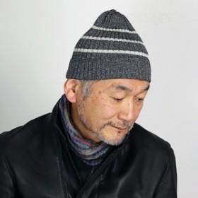 ニットワッチ ボーダ― サイコバニー メンズ 秋冬 ニット帽 Psycho Bunny ビーニー帽 レディース