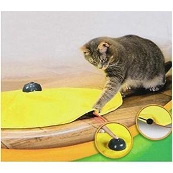 猫おもちゃ 電動 猫じゃらし 猫用電動おもちゃ 猫用遊ぶ盤 ペット 遊ぶ盤 ペット玩具 電動ぐるぐる スピードが調節でき 遊び