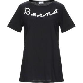 《セール開催中》BERNA レディース T シャツ ブラック M コットン 100%