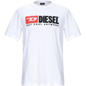 《期間限定セール開催中!》DIESEL メンズ T シャツ ホワイト XS コットン 100%