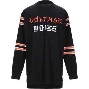《期間限定セール開催中!》DIESEL メンズ T シャツ ブラック XS コットン 100% / ポリエステル