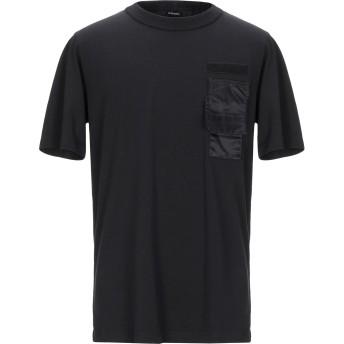 《9/20まで! 限定セール開催中》DIESEL メンズ T シャツ ブラック XS コットン 100% / ナイロン