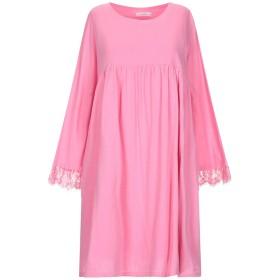 《期間限定セール開催中!》SUN 68 レディース ミニワンピース&ドレス ピンク L ポリエステル 100%