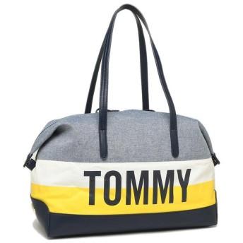 トミーヒルフィガー バッグ アウトレット TOMMY HILFIGER W86947956 464 メンズ レディース ボストンバッグ ホワイトマルチ 敬老の日 運動会 ハロウィン