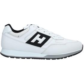 《セール開催中》HOGAN メンズ スニーカー&テニスシューズ(ローカット) ホワイト 6 革 / 紡績繊維