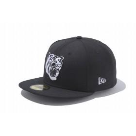 【ニューエラ公式】 ストア限定 59FIFTY 阪神タイガース 虎ロゴ ブラック × ホワイト メンズ レディース 7 (55.8cm) NPB キャップ 帽子 11151068 NEW ERA