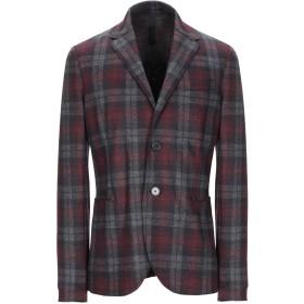 《送料無料》HARRIS WHARF LONDON メンズ テーラードジャケット ボルドー 46 バージンウール 100%