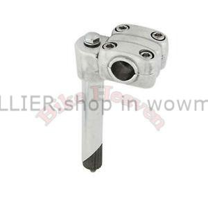 NEW BICYCLE LOWRIDER STEM 2-BOLTS 22.2MM or 21.1MM CHROME CRUISER MTB BIKES!