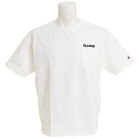 エクストララージ Champion 半袖ポケットTシャツ 01191132-WHITE (Men's)