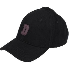 《期間限定 セール開催中》DIESEL メンズ 帽子 ブラック I ウール 80% / ナイロン 13% / 毛(アンゴラ) 7%