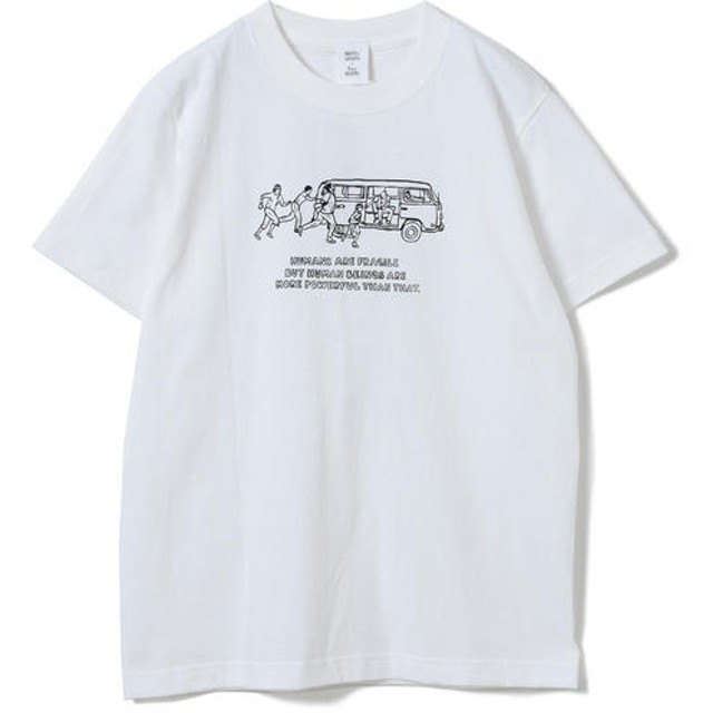 [マルイ] NAIJEL GRAPH × Ray BEAMS / 別注 Yellow Wagon Tシャツ/レイ ビームス(Ray BEAMS)
