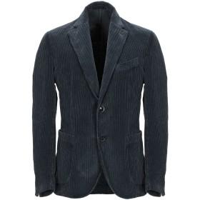 《期間限定セール開催中!》BAGNOLI Sartoria Napoli メンズ テーラードジャケット 鉛色 54 コットン 98% / ポリウレタン 2%