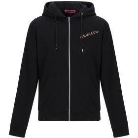 《期間限定セール開催中!》McQ Alexander McQueen メンズ スウェットシャツ ブラック XXS コットン 100% / ポリウレタン