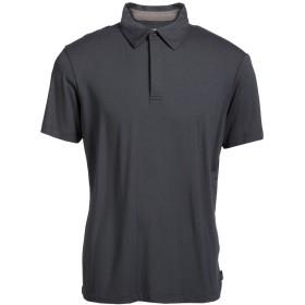 《期間限定セール開催中!》ARMANI COLLEZIONI メンズ ポロシャツ 鉛色 XS レーヨン 95% / ポリウレタン 5%