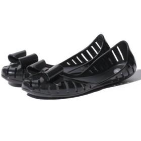 (shoes lounge/シューズラウンジ)【MEL】フラットシューズ/レディース ブラック