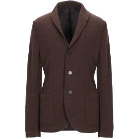 《期間限定セール開催中!》HARRIS WHARF LONDON メンズ テーラードジャケット ブラウン 48 ウール 56% / コットン 29% / ナイロン 15%