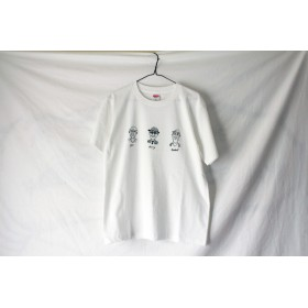 oldman 3men Tシャツ white (枠なし)