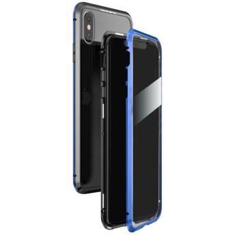 シンシア LUPHIE/ルフィiPhone X/XS/XS MAX Magnetic Bumper Case マグネティック バンパーケース ユニセックス ブルー X/XS 【Sincere】