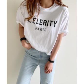 (3rd Spring/サードスプリング)NANING9(ナンニング)CELERITY半袖Tシャツ/レディース ホワイト