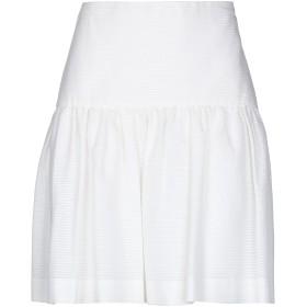 《セール開催中》RALPH LAUREN BLACK LABEL レディース ひざ丈スカート ホワイト 4 コットン 100%