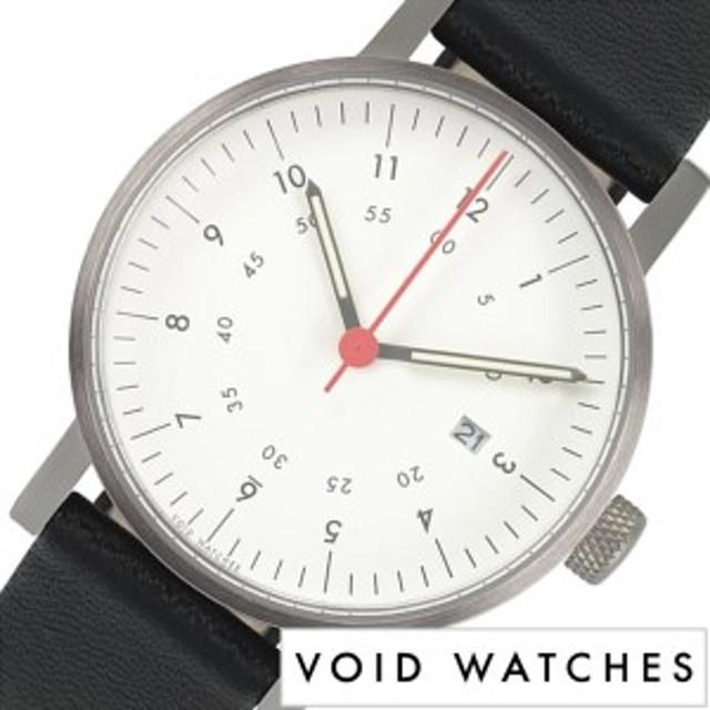 3158c6966c ヴォイド 腕時計 VOID 時計 ヴォイド 時計 VOID 腕時計 ボイド メンズ レディース ホワイト VID020044 正規品 POS