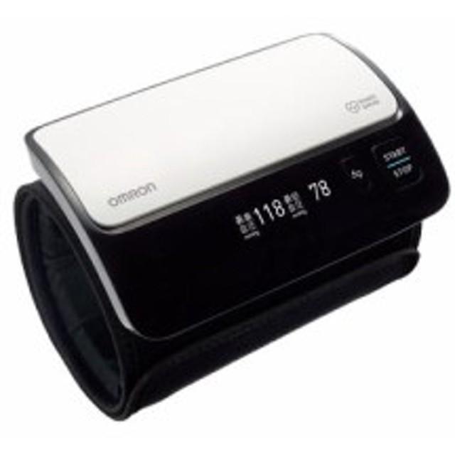 オムロン HEM-7600T-W(ホワイト) 上腕式血圧計(腕帯巻きつけタイプ)〔本体・カフ一体型 チューブレスコンパクトモデル〕 ※1人用