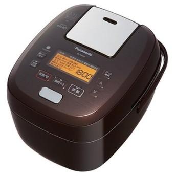(長期無料保証) パナソニック IHジャー炊飯器 SR-PA109-T ブラウン 炊飯容量:5.5合