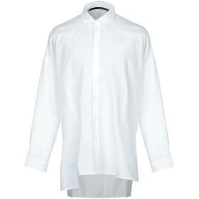 《セール開催中》ISABEL BENENATO メンズ シャツ ホワイト 52 コットン 100%