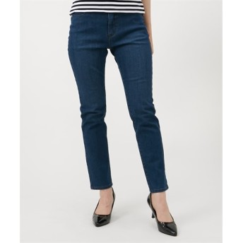 ファブリーズ承認 消臭機能付スキニーデニムパンツ(選べる2レングス) (レディースパンツ)Pants